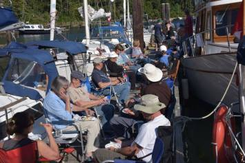 Dock Party - Photo by: Ladysmith Yacht Club