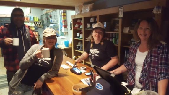 2016 Galiano Salmon Classic - 5am coffee service!